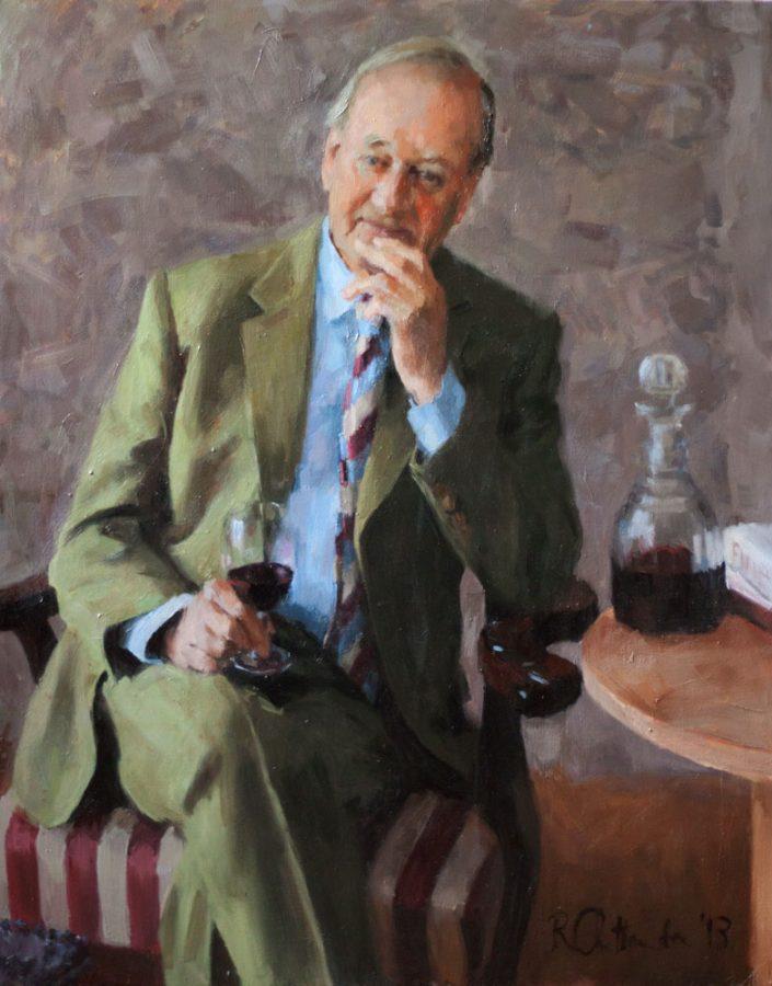 corporate portrait - oil on canvas