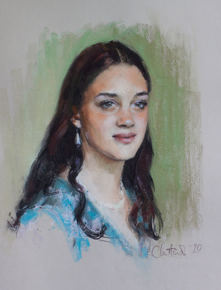 portrait of 16 year old girl
